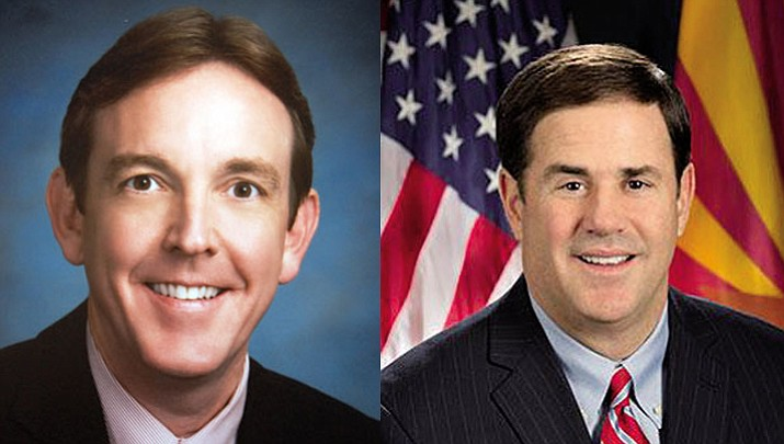 Ken Bennett and Governor Doug Ducey