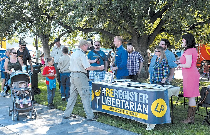 Mohave County Libertarian Party held its monthly meetings at 6 p.m., every second Thursday of the month at Black Bridge Brewery, 421 E. Beale St.(Daily Miner file photo)