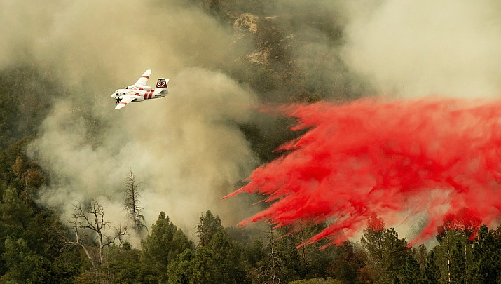West Coast on fire: Kaibab firefighters head to California
