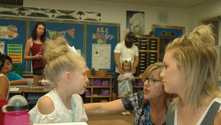 First day of school: Parents, teachers, students all nervous and excited