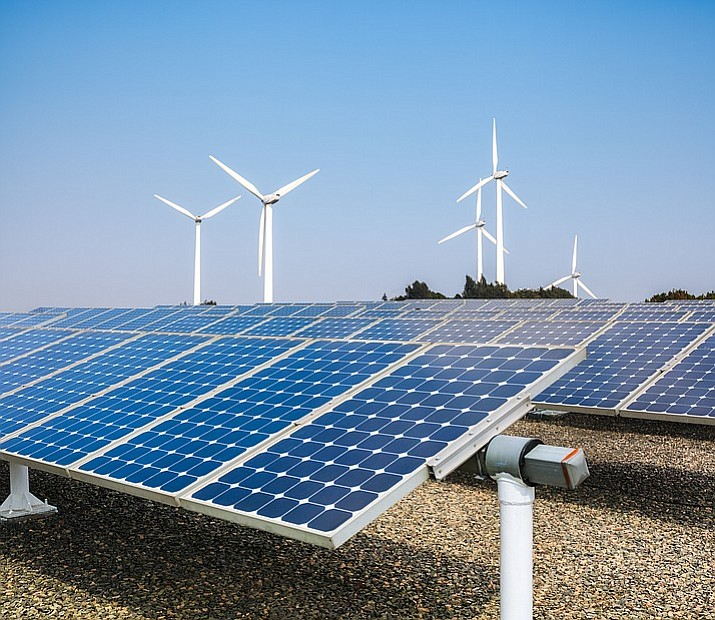 Clean Energy for a Healthy Arizona is seeking to amend the Arizona Constitution to require 50 percent of electricity generated by most power companies come from renewable sources by 2030. (Stock photo)