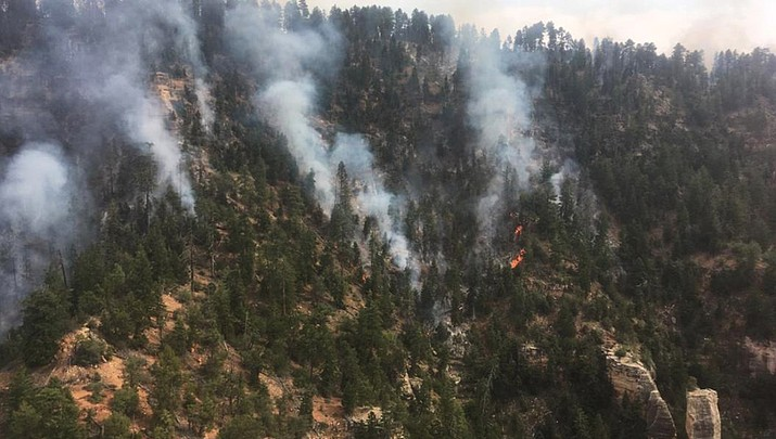 Current closures at Grand Canyon National Park due to wildfire activity