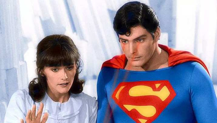 Margot Kidder and Christopher Reeve in 'Superman II. (Warner Bros/DC Comics)
