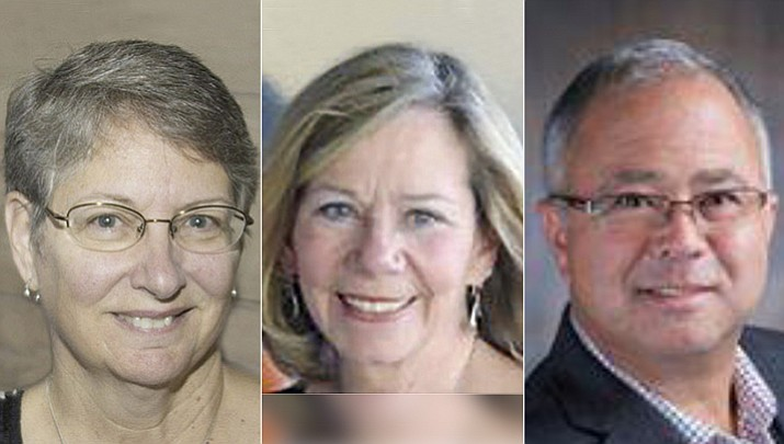 In Prescott Unified School District, three candidates — Deb Dillon, Connie Donovan and Dave Klever, all of them career educators — will be seeking to replace two members who are not seeking re-election — retired educator Maureen Erickson, who served for six years; and Prescott Mayor Greg Mengarelli, who served a single, four-year term.