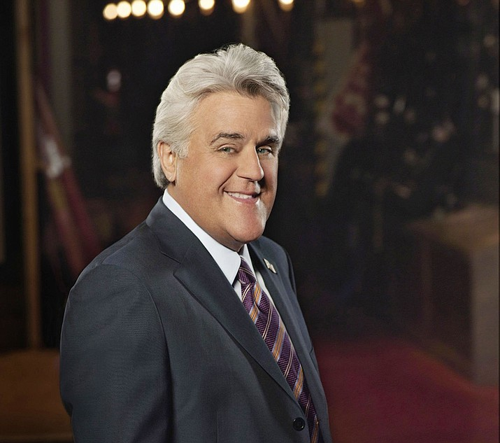 Jay Leno is set to kick off the Yavapai College Performing Art Center's 2018-19 season, celebrating the college's 50th anniversary, with a special performance Saturday, Aug. 25. (Courtesy)