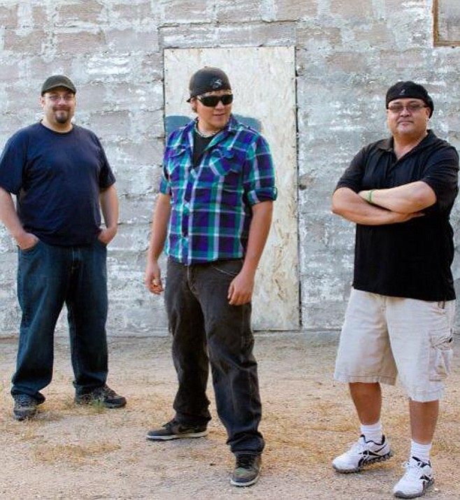 The Rivals, from left, David, Robert and Cardo Diaz, will play a free concert at 5 p.m. Sunday at Metcalfe Park presented by Sounds of Kingman. (Courtesy)