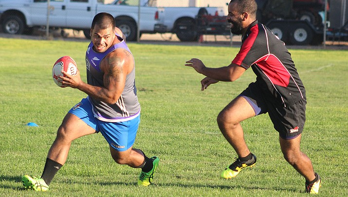 Ready to rumble: Rugby club is off and running in Kingman