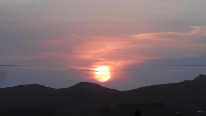 Kingman Photo   Sunset After the Storm