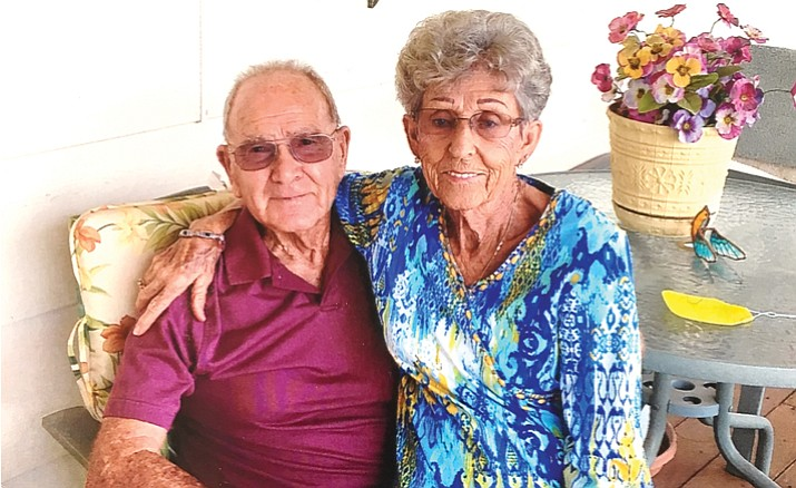 Sheldon and DeLora Coffelt have been married 71 years.