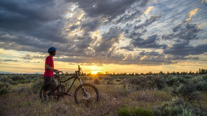 Roads for bicycling and other non-motorized uses will be reviewed as part of the BLM's travel management plan during three scheduled public meetings. ( BLM photo)
