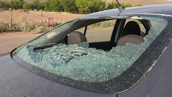Broken windows anger vehicle  owners