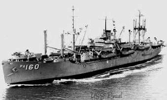 USS Deuel PA 160. (Courtesy)