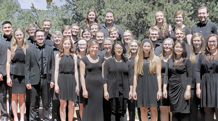 The Sedona Academy of Chamber Singers was created in 2010 to celebrate the 50th anniversary of the Church of the Red Rocks in Sedona, Arizona and the 25th anniversary of Reverend Dr. George A. Ault. Photo by Betty Morgan