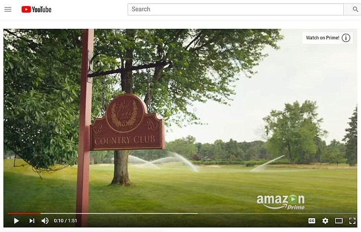 "A screen shot from youtube.com on the official season one trailer of ""Red Oaks"" on Amazon Prime. (Courier photo)"