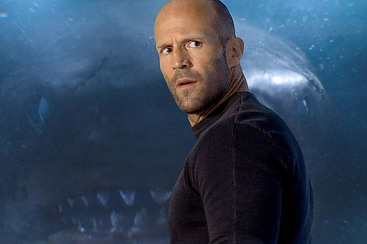 "This image released by Warner Bros. Entertainment shows Jason Statham in a scene from the film, ""The Meg."" (Warner Bros. Entertainment)"