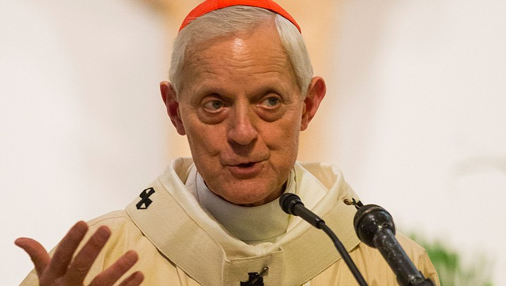 The Archbishop of Washington D.C., Cardinal Donald William Wuerl. (Photo by James Tourtellotte)