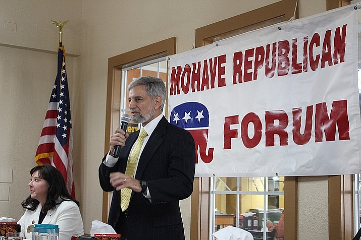 Steve Gaynor, candidate for Secretary of State, has claimed that incumbent Michele Reagan's tenure has been marked by missteps in Arizona's elections division. (Daily Miner file photo)