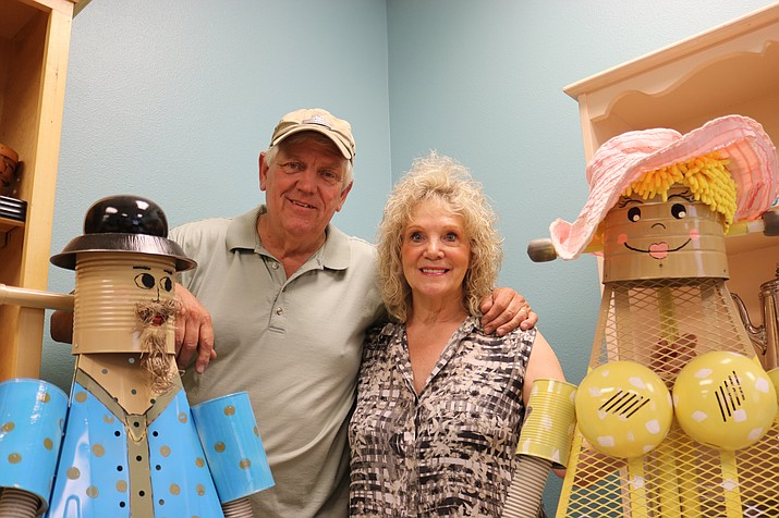 Don (left) and Annie Fuller of Annie's Art Attic invite the community to attend an open house for the nonprofit organization's new art annex from 5 to 8 p.m. Thursday, Aug. 16 at the attic, 2575 Northern Ave. (Travis Rains/Daily Miner)