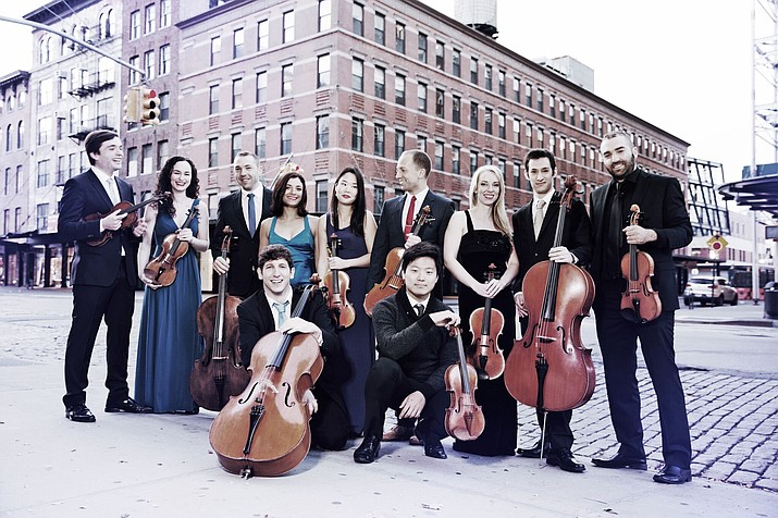 Two violinists and a cellist from the Manhattan Chamber Players will join festival co-founders Robert Bonfiglio and Claire Hoffman to close the event Sept. 7-8.  (Photos courtesy of Manhattan Chamber Players)
