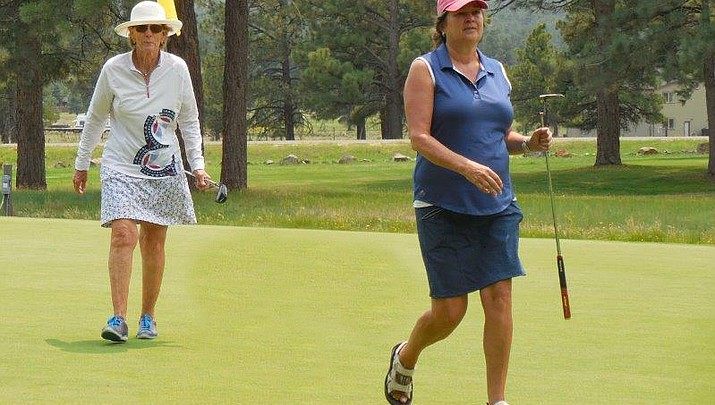 Women golfers hit the links at Club Championship