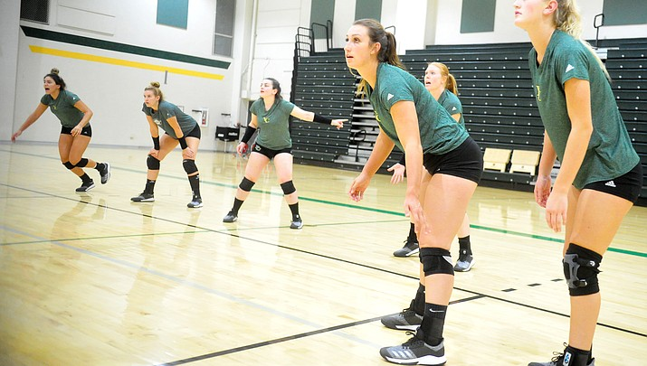 Preview: Yavapai College spikers still aim for postseason despite being green
