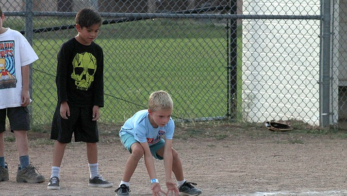 Grand Canyon youth get a taste of baseball during weekly game nights