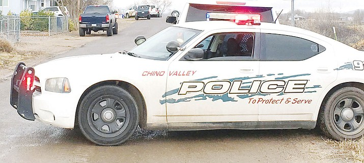 Chino Valley Police car. (Review photo, file)