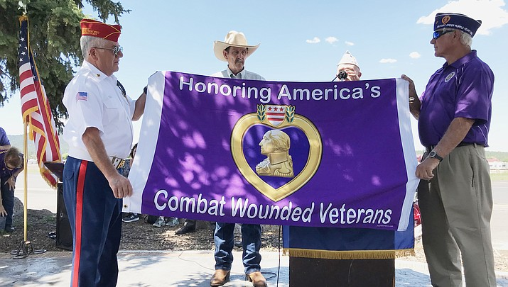 Williams honors Purple Heart recipients Aug. 7