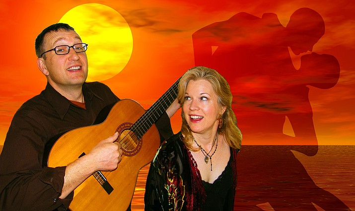 Flor de Bee is a spicy, whimsical duo of international acclaim. Acoustic guitar, sassy vocals, gliding harmonies and percussion deliver jazz, Latin and French classics with a tantalizing twist.Photos by Al Comello; courtesy Susannah Martin