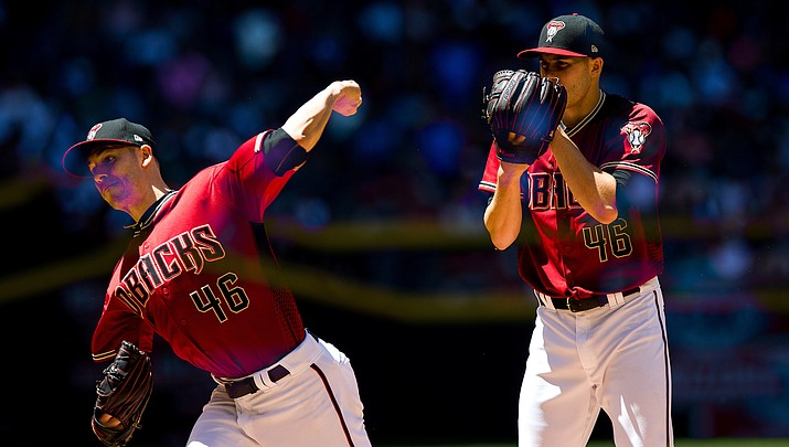 Goldschmidt homers, Corbin sharp in Arizona's 6-4 win at Texas