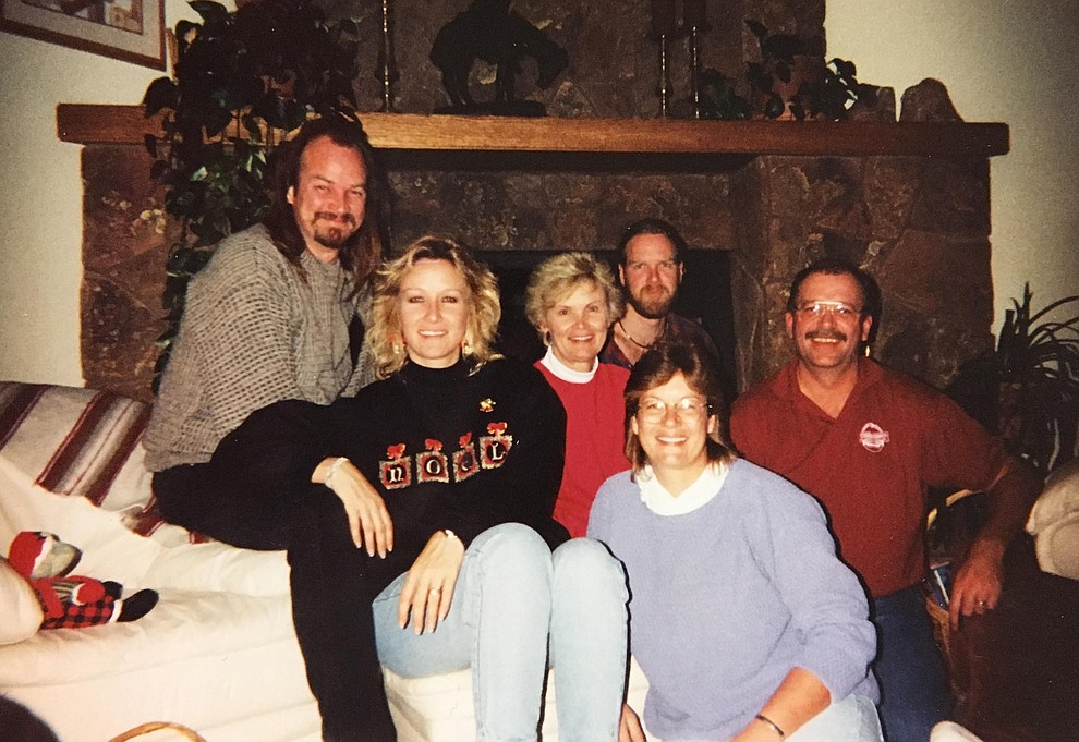 "A group shot of local politician Carol Springer's family from about 1999 shows, left to right, John ""Bert"" Springer; Carol Lynn Springer; Carol Springer; Kurt Springer; Leslie Springer; and Kent Springer. (Courtesy/Springer family)"