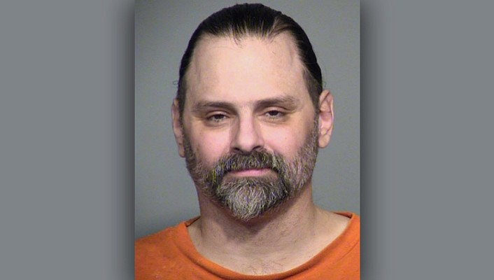 Jason Eugene Bush was one of two people sentenced to death for the killings of a man and his 9-year-old daughter during a 2009 home invasion in Arivaca in southern Arizona. (Arizona Department of Corrections)