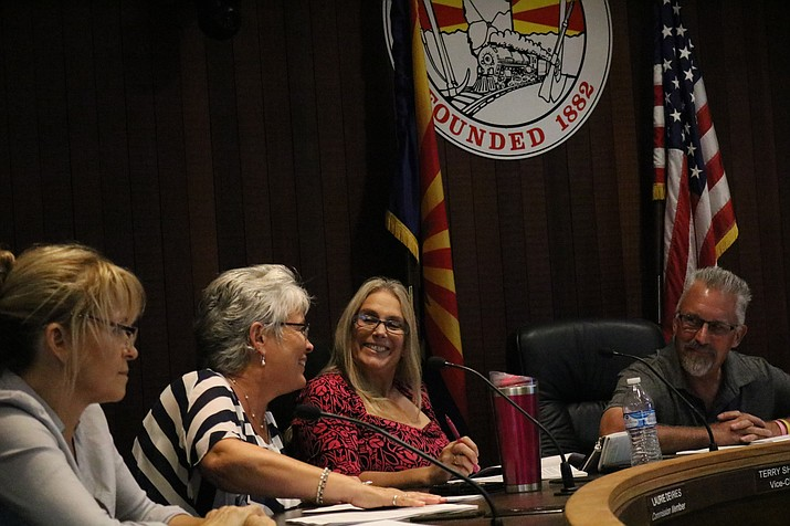 The Planning and Zoning Commission voted to permit RV, boat, camper and trailer storage in residential driveways at Tuesday's meeting. Council now has the final say on whether to approve the amendment. (Travis Rains/Daily Miner)