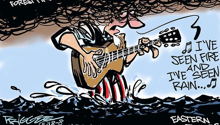 Editorial cartoon (1): August 18, 2018