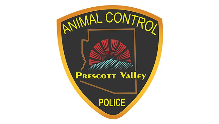 Animal control officers with the Prescott Valley Police Department wear this insignia on their uniforms.
