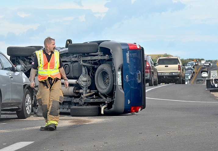 At approximately 4:30 p.m. Thursday, deputies were dispatched to a collision involving two vehicles on Cornville Road at Amante Drive, Cornville, according to YCSO. (Vyto Starinskas, VVN/Courtesy)