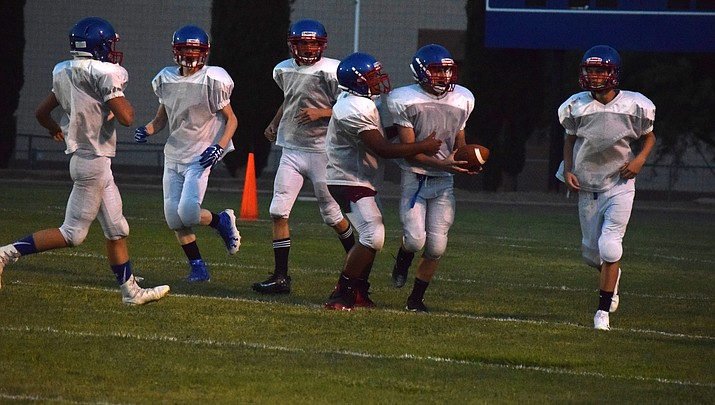 New look Camp Verde football debuts in scrimmage