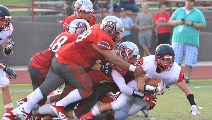 Mingus Union football crushes Combs in Ortiz's debut