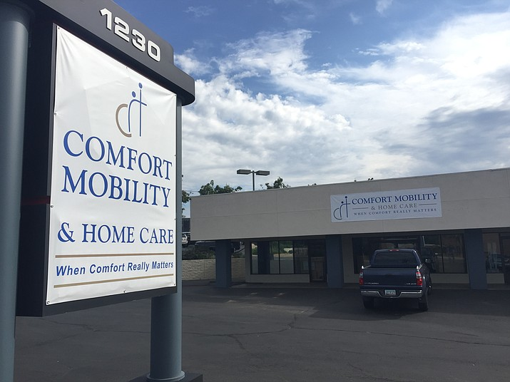 Comfort Mobility, formerly named Canyon Mobility, is opening a new retail space on Iron Springs Road where Unlimited Performance Auto Sales previously was. (Max Efrein/Courier)