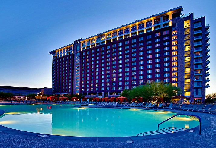 Talking Stick Resort and Casino closed Aug. 11 because of storm flooding and damage is postponing its reopening. (Courtesy)