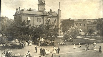 Days Past: The old courthouse became a living wreck photo