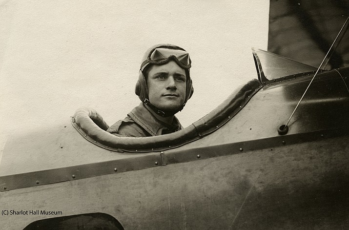 Lt. Ernest A. Love is pictured in one of the planes he flew during World War I. Love Field — the Prescott airport is named in his honor. (Sharlot Hall Museum/Courtesy)