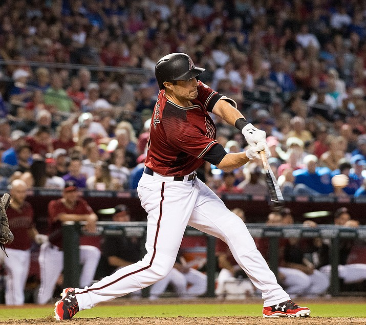 A.J. Pollock hit his 16th homer of the year to send Arizona to its fourth win in five games. (File photo courtesy of Sarah Sachs/Arizona Diamondbacks)