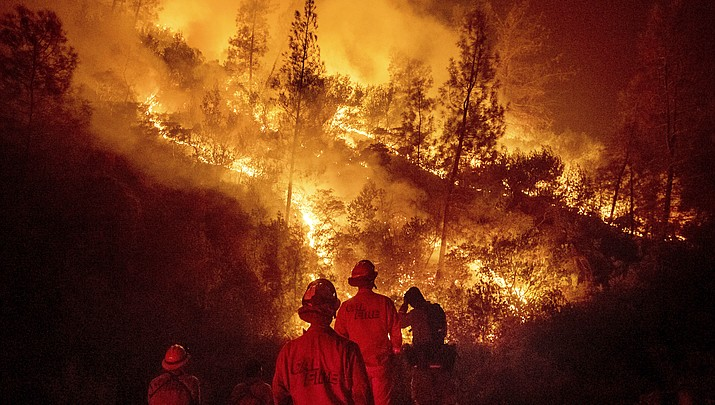 Science: Hotter weather turbocharges US West wildfires