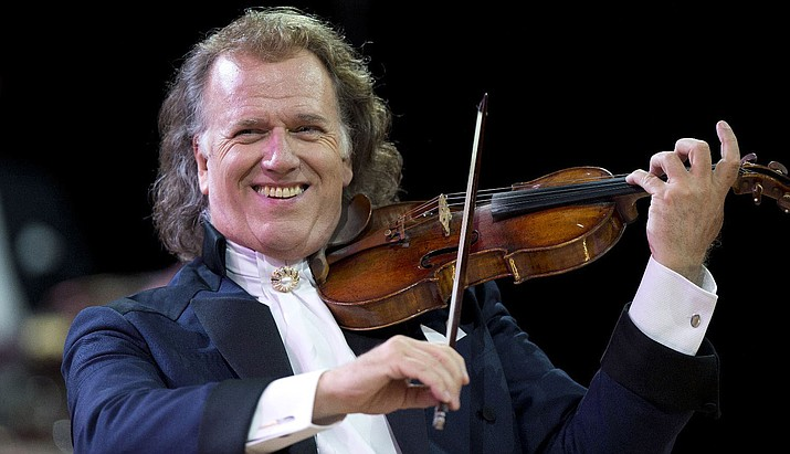"One of the most popular live acts in the world: the King of the Waltz André Rieu presents ""Amore"" — his celebrated 2018 Maastricht concert — in cinemas worldwide (including Sedona) on Tuesday, Aug. 28. Featuring Rieu's own take on classic love songs, from the worlds of popular and classical music, the ""Amore"" concert brings together his 60-piece Johann Strauss Orchestra as well as sopranos, tenors, and some very special guests."