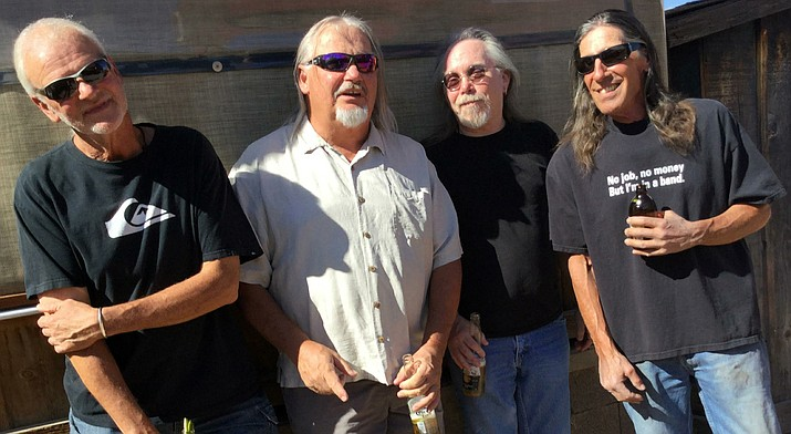 The Gozers: Clay Harper, Jim Jordan,  Jeff Scrima and Dale Caddell.