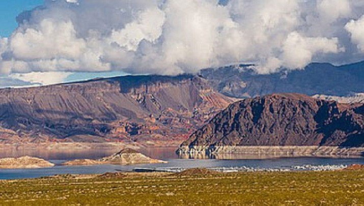 The first portion of the Interstate 11 freeway, which will eventually span from Canada to Mexico, travels through 1.5 miles of Lake Mead National Recreation Area to the Hoover Dam. (National Park Service photo)