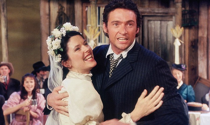 "Rodgers and Hammerstein's ground-breaking musical ""Oklahoma!"" is an Emmy-winning production in which Hugh Jackman made his name, from London's National Theatre, filmed in 35mm and digitally remastered."