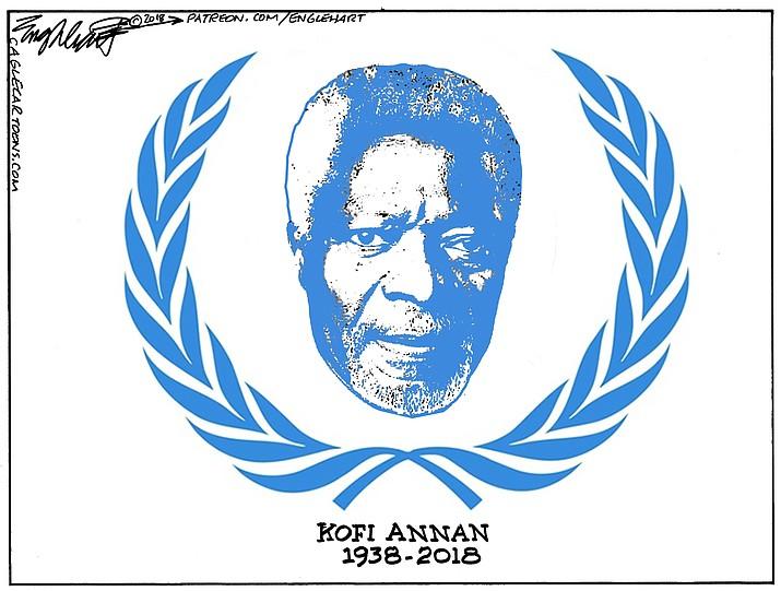 Editorial Cartoon (2): August 21, 2018
