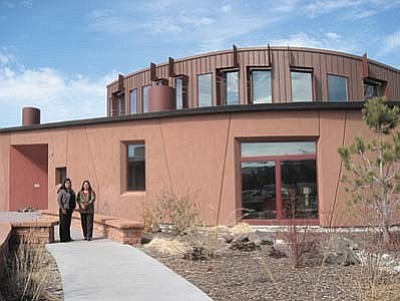 A 2014 photo of the Native American Cultural Center located on the campus of Northern Arizona University in Flagstaff, Arizona. (NHO file photo)